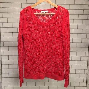LOFT V-neck Sweater Size M